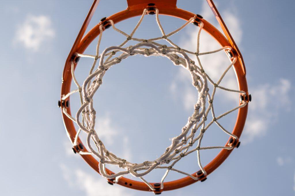 Thomas Päch- Basketball Korb im Freien